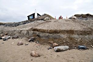 Ødelagt redningsvej i Nørlev genopbygges