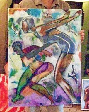 Stjal to kunstværker