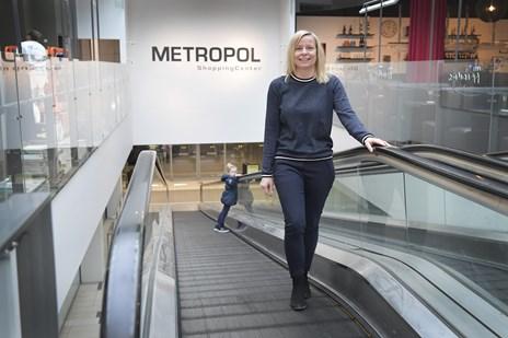 Shoppingcenter fejrer ti år - nyt spisested åbner