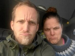 Aalborg-par i problemer på landevejen
