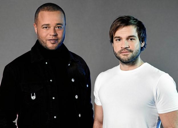 Remee er Jamie Talbots mentor igennem X Factor forløbet. PR Foto: DR