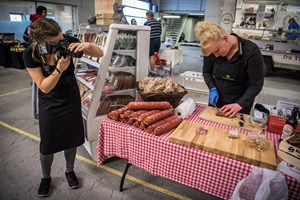 Fødevaremarked åbner 5. april