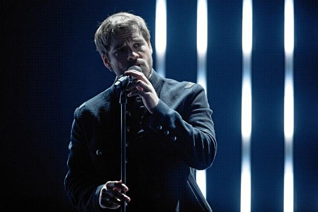 Jamie Talbot imponerede endnu en gang dommerne ved X Factors andet live show. PR Foto: DR