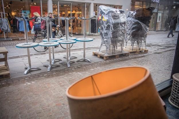 Billeder til artikel om Espresso Houses nye kaffebar i Bispensgade, Aalborg.