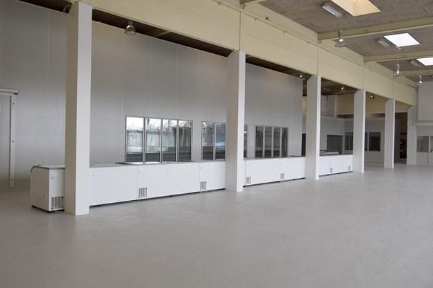 Selvafhentningslageret i Aalborg bliver på ca. 1000 kvadratmeter og får fem ansatte.