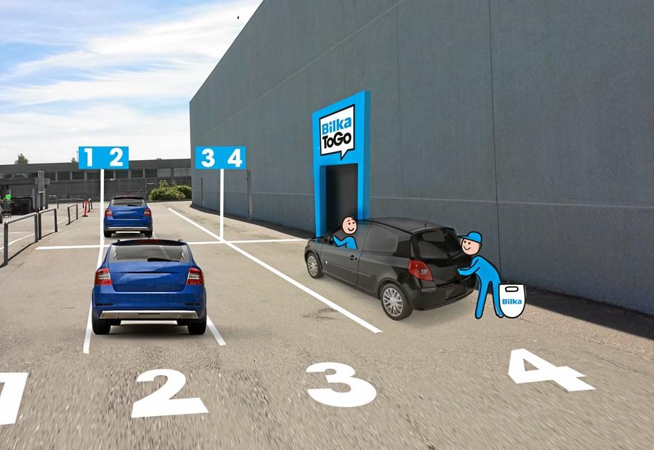 BilkaToGo åbner i april i Skalborg