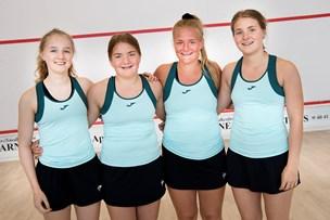 Thysquashs elitedamer vinder grundspillet