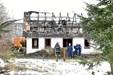 73-årig fortsat forsvundet: Brandtomt undersøges igen