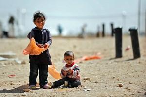 Syriske børn i nabolandene Tyrkiet, Libanon og Jordan får overskuddet fra Børnenes U-landskalender 2018.
