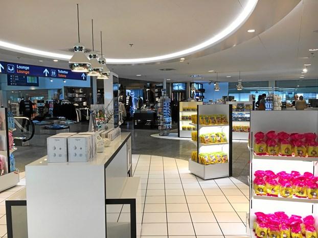 Mere shopping i lufthavnen