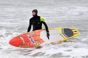 Casper Steinfath padler mod Norge i weekenden