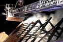 Levende lys skyld i voldsom brand i Mariager