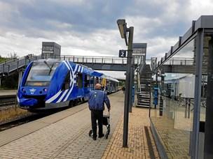 Sporskifteproblemer sendte togpassagerer med bus