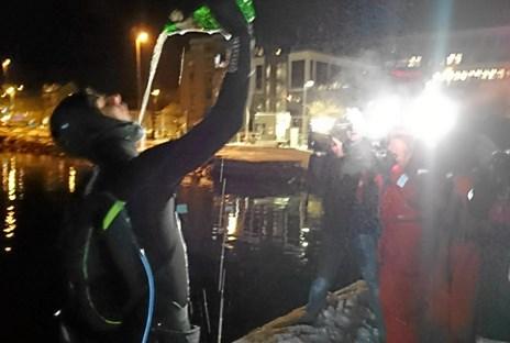 Så lykkedes det: 24-årige Casper padlede sig fra Hirtshals til Norge