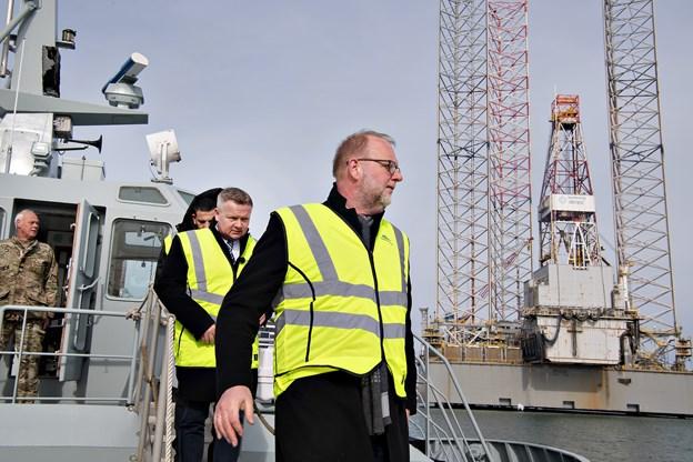 Ministre og amerikansk gigant fik den store havnerundfart