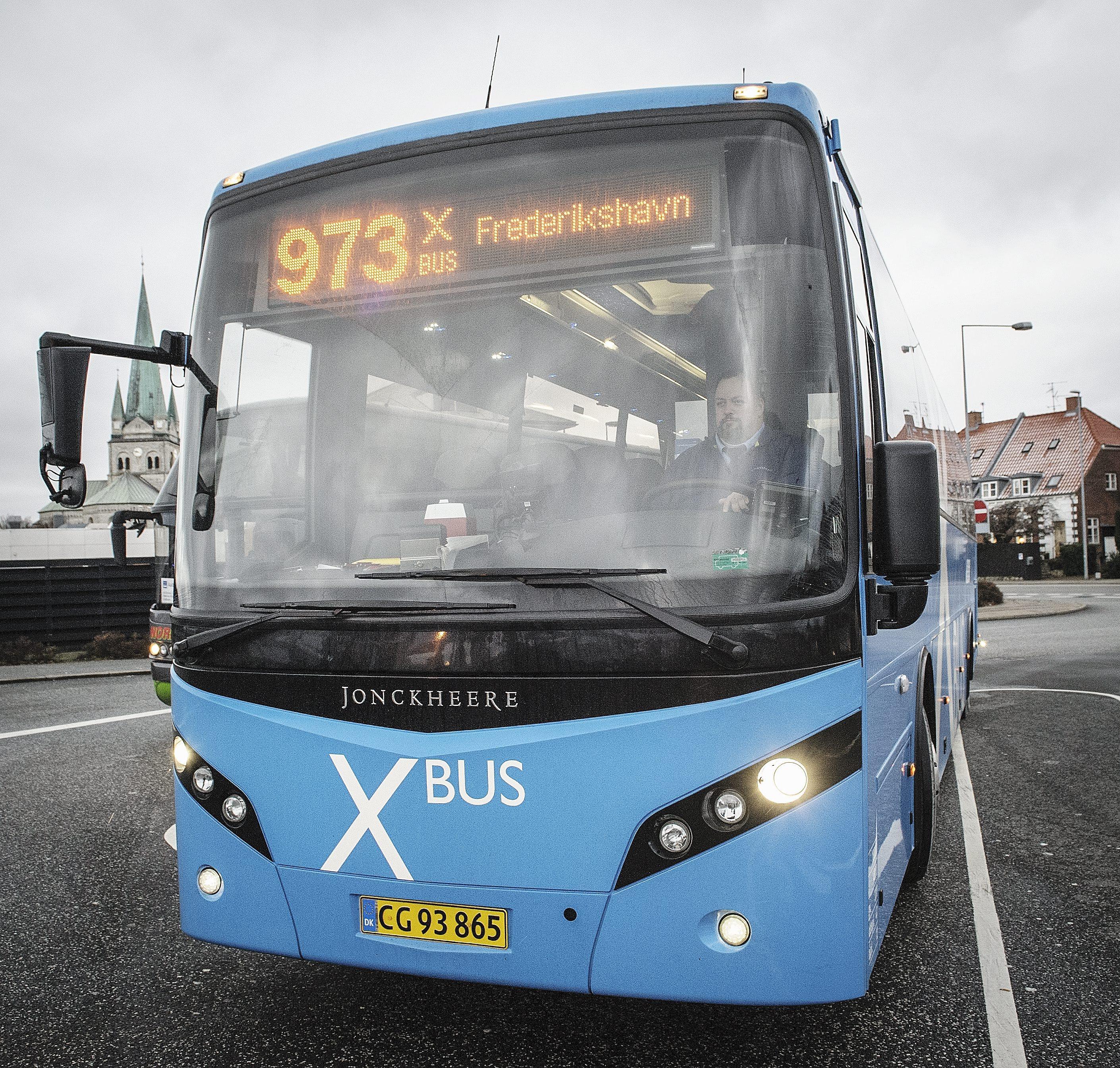 x bus ålborg frederikshavn