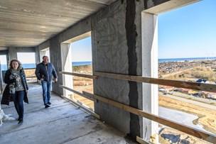 Folkevandring til åbent hus i Frederikshavns nye højhus