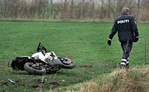 Ny rapport: Motorcyklister lever livet farligt