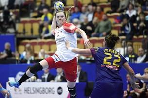 Danske håndboldkvinder tæt på EM