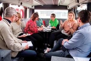 Nordjyskes bus landede i Hanstholm