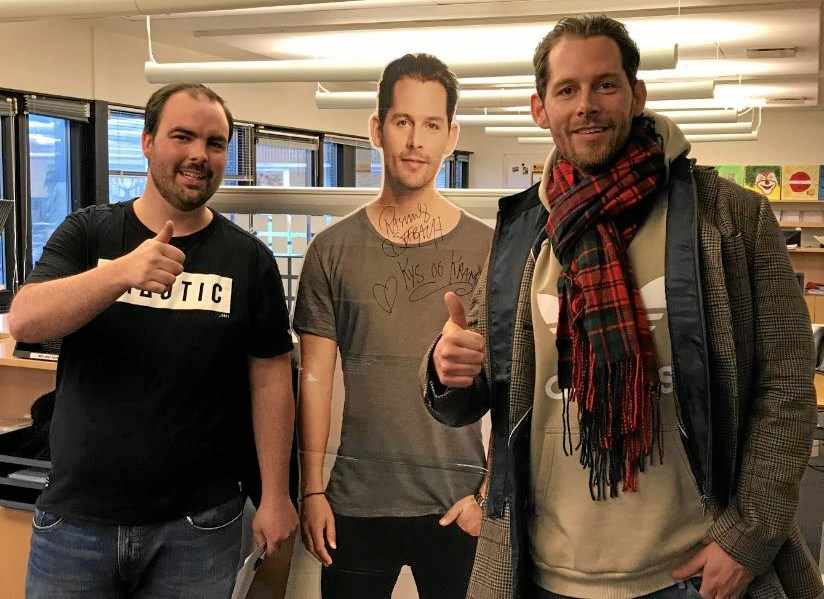 Rasmus Seebach besøger Go' Morgen
