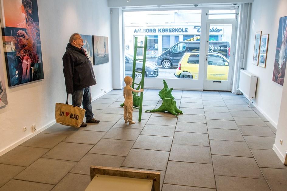 Kig indenfor i storby-kunstnerens verden