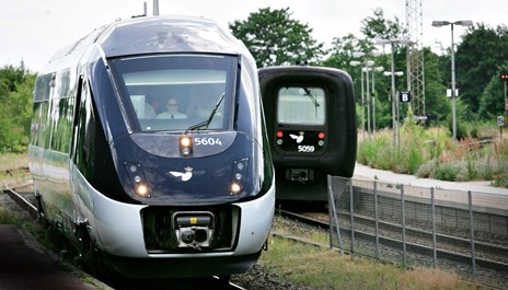 Sporarbejde rammer togtrafik til Aalborg