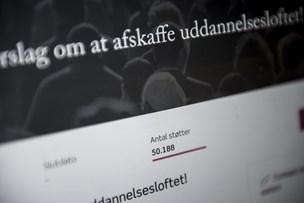Danmarkshistoriens første borgerforslag stemmes ned