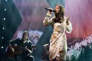 """Fire deltagere er klar til semifinalen i """"X Factor"""", som finder sted i næste uge."""