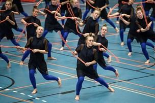 Se billederne: 2000 gymnaster på gulvet i Hobro