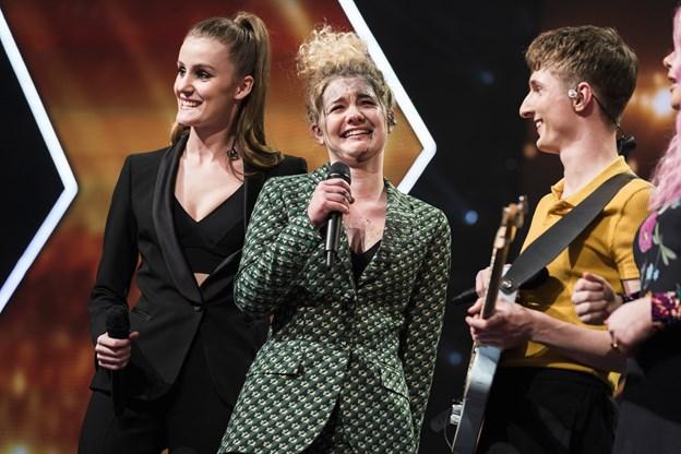 Koks på X Factor-scenen