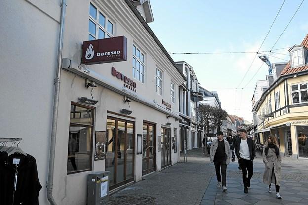 Siden januar er gæsterne blevet henvist til Baresso på Nytorv, men det er slut fra på fredag.