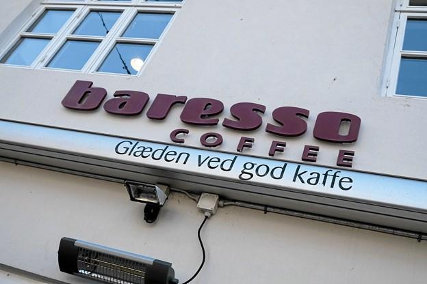 Intet er lavet om i kaffebaren under lukningen.