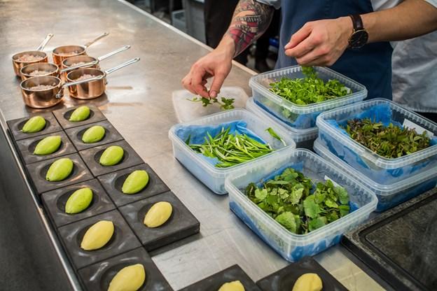 Der blev tænkt kreative tanker og arbejdet med lækre retter i køkkenet.