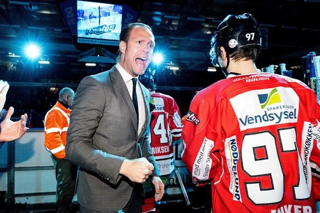 Direktør Thomas Bjuring håber inderligt, at guldet ender i Aalborg.
