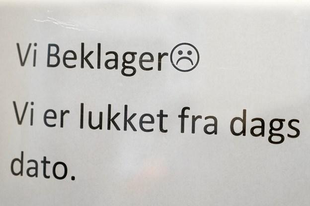 Det er med stor beklagelse, at Anders Pilgaard har lukket bageriet.