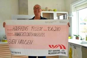 Sven Hansen vandt 100.000 kroner