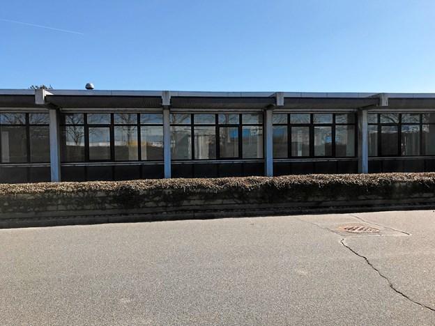 Lokalerne venter nu på at blive renoveret og moderniseret til skolebrug, og i henhold til lejeaftalen er det Coop, der skal stå for dette arbejde. Foto: Torben O. Andersen