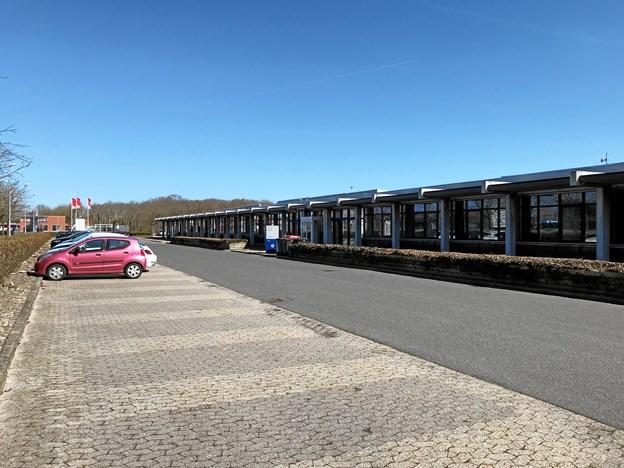 Bygningerne lægger i dag lokaler til bl.a. Aalborg Kommune og en livsstilsbutik og får altså også Victoriaskolen som lejer. Foto: Torben O. Andersen