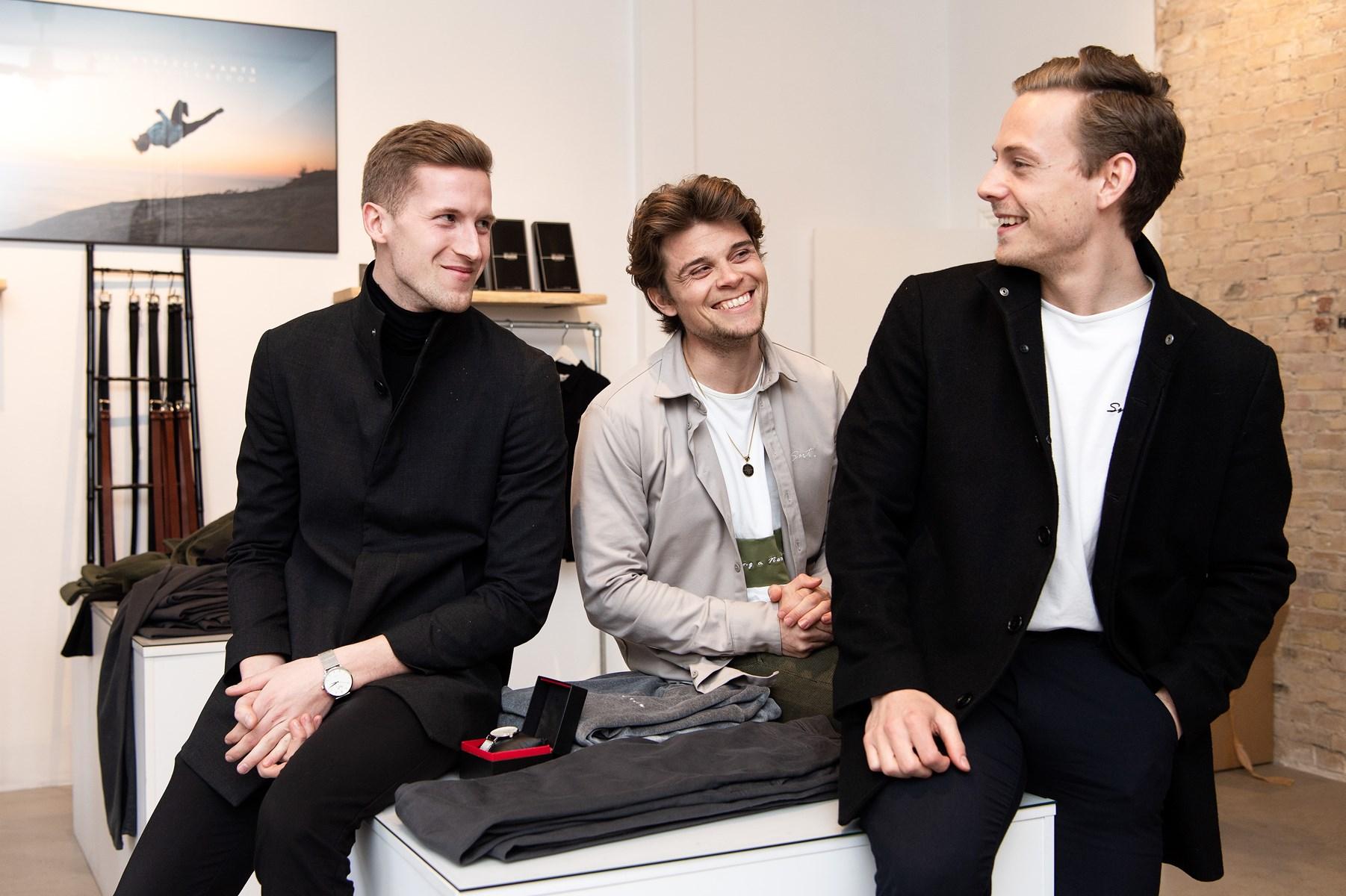 Kasper Ulrich, Christoffer Bak og Christian Aachmann mestrer kunsten både at være venner og forretningspartnere - årsagen er blandt andet, at de har en klar rollefordeling.
