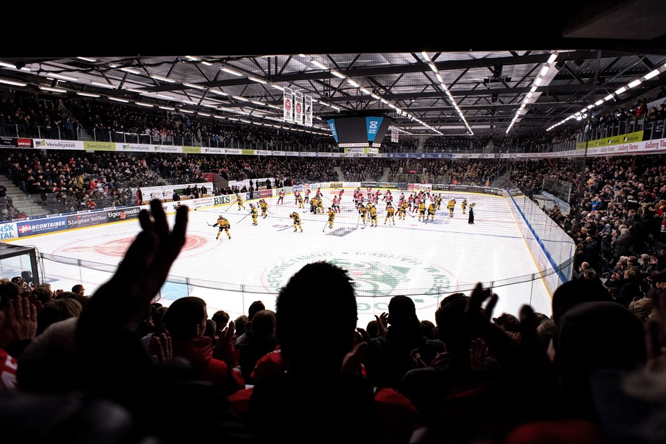 Stemningen i Cool East Arena var euforisk.