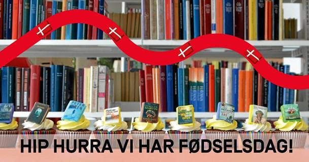Hjørring Bibliotek fejrer ti år