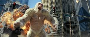 Film: King Kong mod Godzilla mod Fenrisulven ?mod The Rock