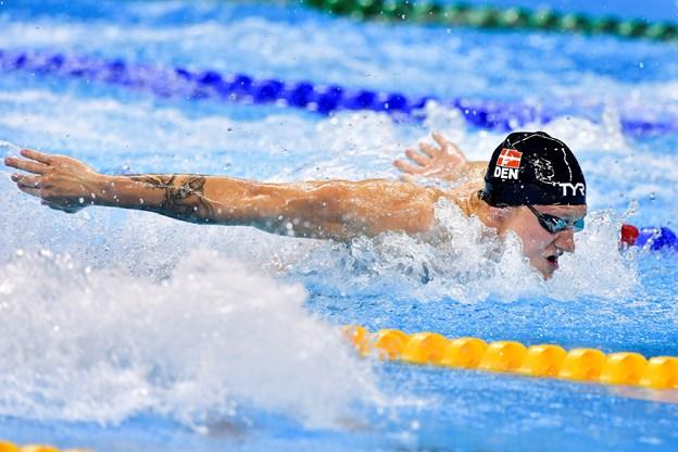 Svømmeren Viktor Bromer er en af dem, der har gjort sig sportsligt bemærket i 2017. Arkivfoto: Henrik Bo