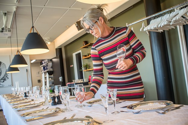 Der er kommet mere fokus på selskaber på Café Lindholm.