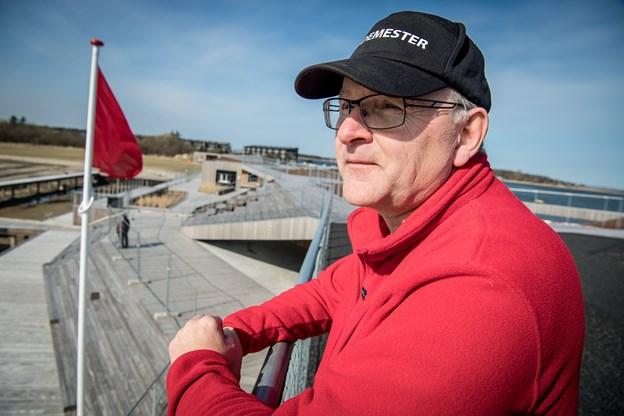 Bademester Kaj Bjerregaard Jensen glæder sig over, at området er blevet mere tilgængeligt end tidligere.