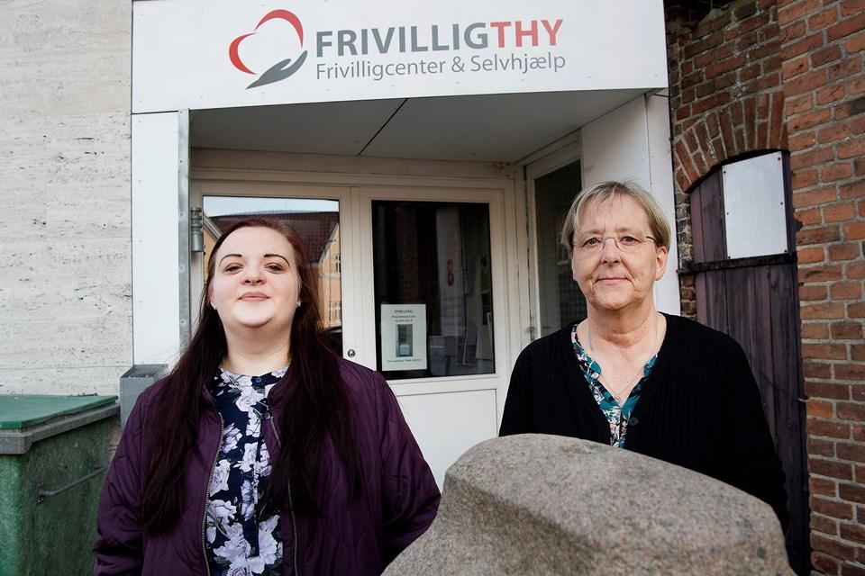 Pernille K. Damsgaard og Peter Mørk (foto)