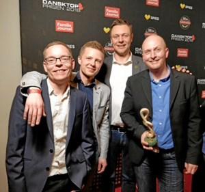 Familie Journals Læserpris til Kejser Larsen Band