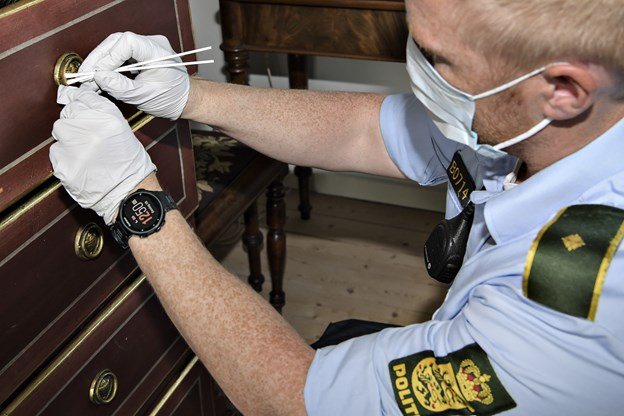 Tyv brød ind i 13 nordjyske hjem