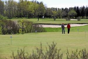 Golfklub slår et slag for diabetesramte